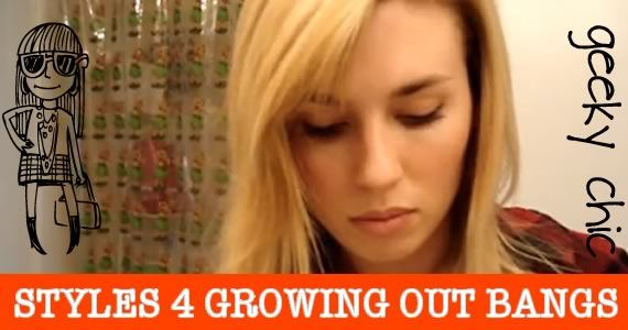 how to style your hair while growing it out how to style your hair while growing out bangs 4764