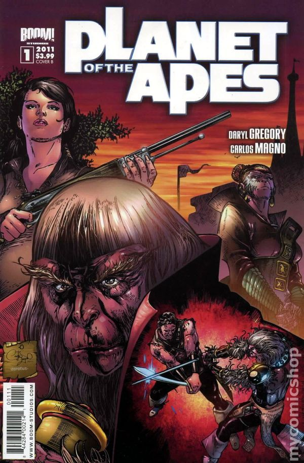 Planet of the Apes (2011 Boom Studios) 1B