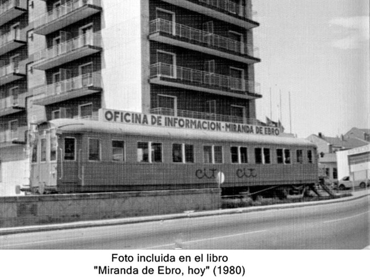 Oficina de información en Miranda de Ebro.1980.