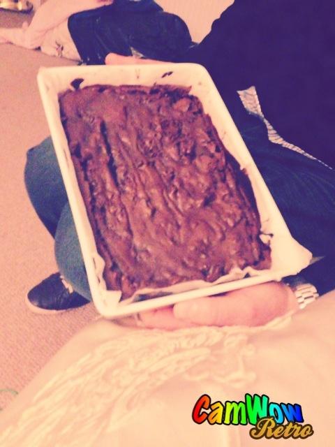 Homemade brownies <3