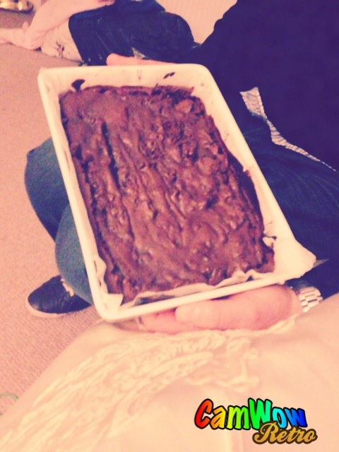Homemade brownies <3