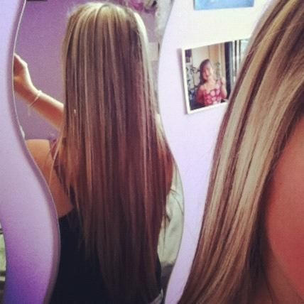Long Straight Hair With Blonde Highlights And Lowlights