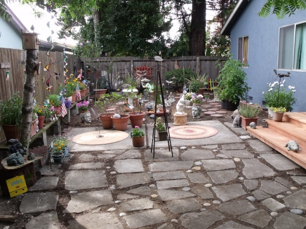 17 best images about what to do with those leftover for Garden slab designs