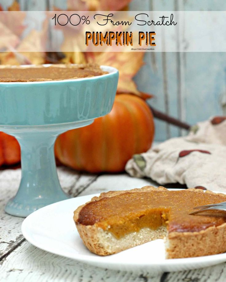 amazing-from-scratch-pumpkin-pie #ThermoCooking