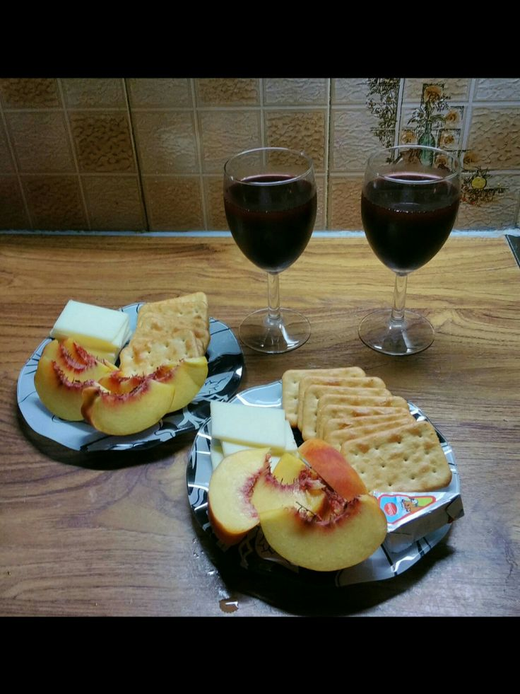 Wine & snacks