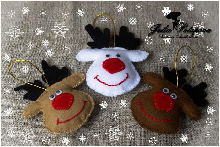 Christmas decorations Deer HandMade