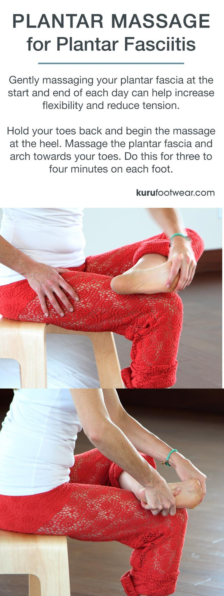 PLANTAR MASSAGE FOR PLANTAR FASCIITIS ||  Gently massaging your plantar fascia…