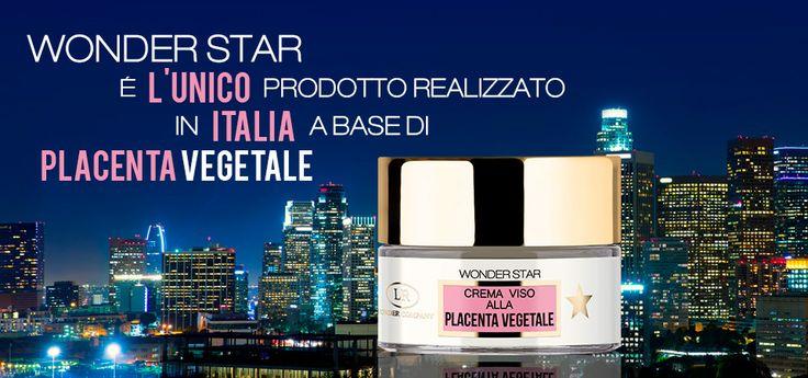 Wonder Star è l'unico prodotto alla Placenta Vegetale in Italia!