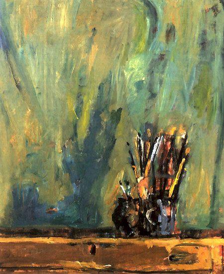 Jozef Czapski,Ombre e pennelli, 1988
