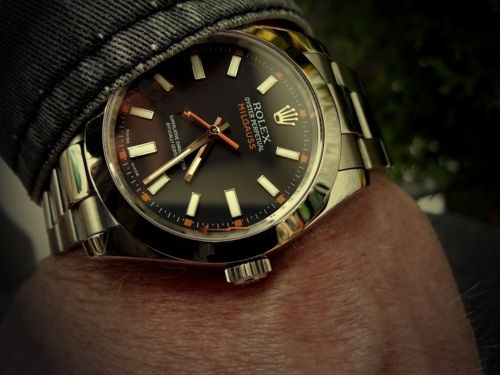 Rolex Oyster Perpetual Milgauss: Rolex Milgauss, Timepiece, Style, Men S Fashion, Mens, Inspiration 18, Time Piece, Watches