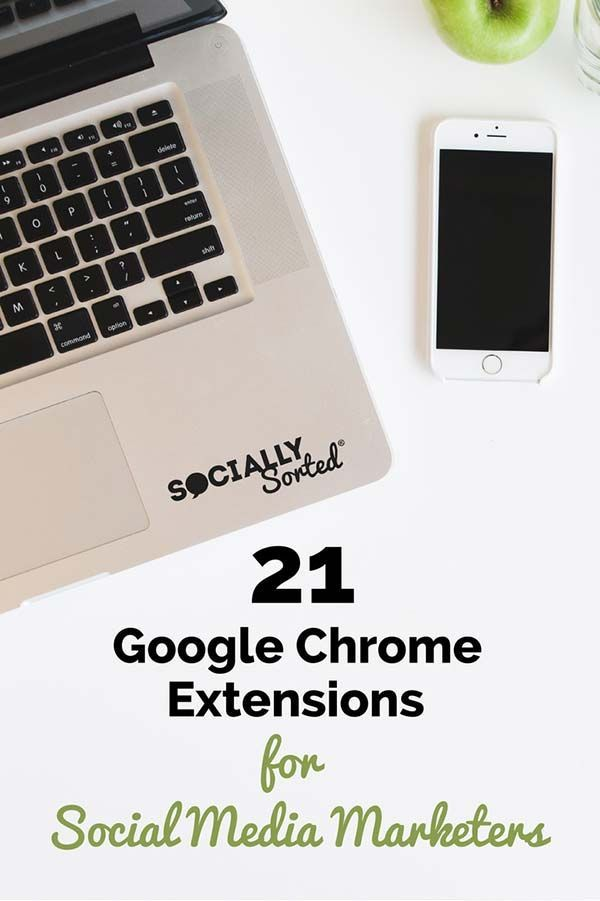 Have you tried these 21 Top Google Chrome Extensions?  They're guaranteed to save your time and make social media marketing much easier!  via @sociallysorted