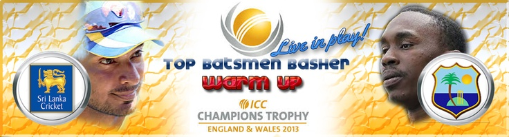 ICC Championship Trophy : Fantastic warm up action ahead of the main event !