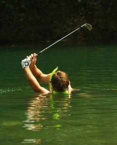Water hazzard...