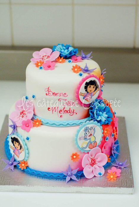 Dora themed cake - CakesDecor