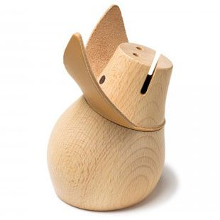 What to buy for an Animal-Obsessed Toddler: Miss Monnipenni Piggy Bank.