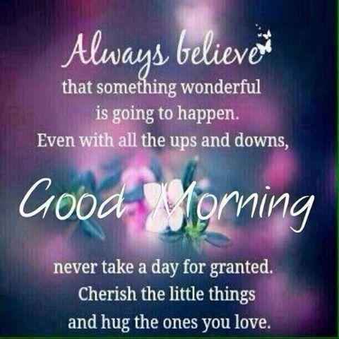 Positive Good Morning