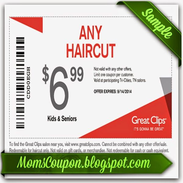 free printable Great Clips Coupon February 2015