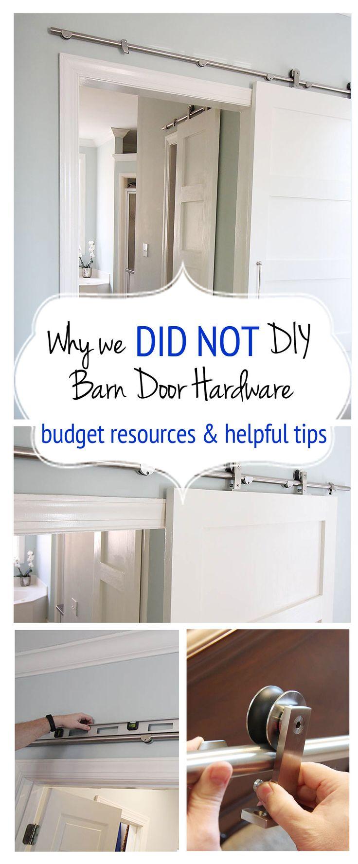 Diy interior barn door - Modern Barn Door Hardware Review And Instructions