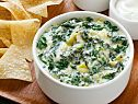 Spicy Spinach-Artichoke Dip. Crazy to not include water chestnuts, so I'd add them :)