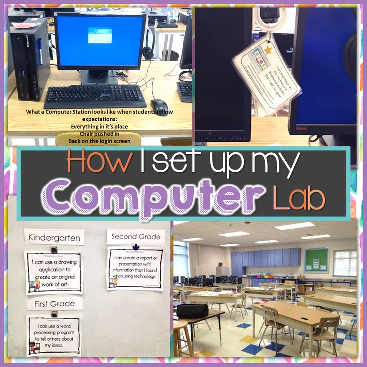 How I set up my computer lab. Blog post by Brittany Washburn about how to set up and maintain an educational environment in any computer lab, and includes things you may not have thought of!