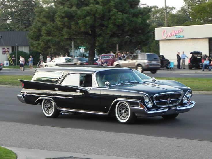 1961 Chrysler resto-mod 300 | Cars Wagons | Pinterest | Station wagon, Cars and Mopar