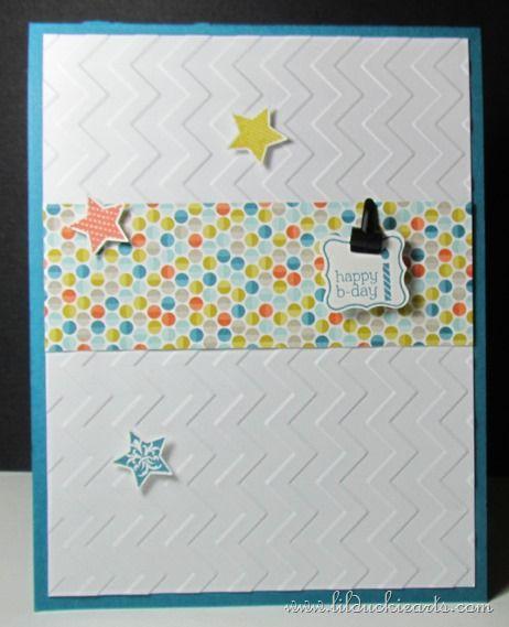 Pocketful of Stars Birthday Pop-up Card | Lil Duckie Arts