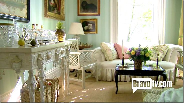 The Glam Pad: Mario Buatta and Patricia Altschul Exude Southern Charm in Charleston