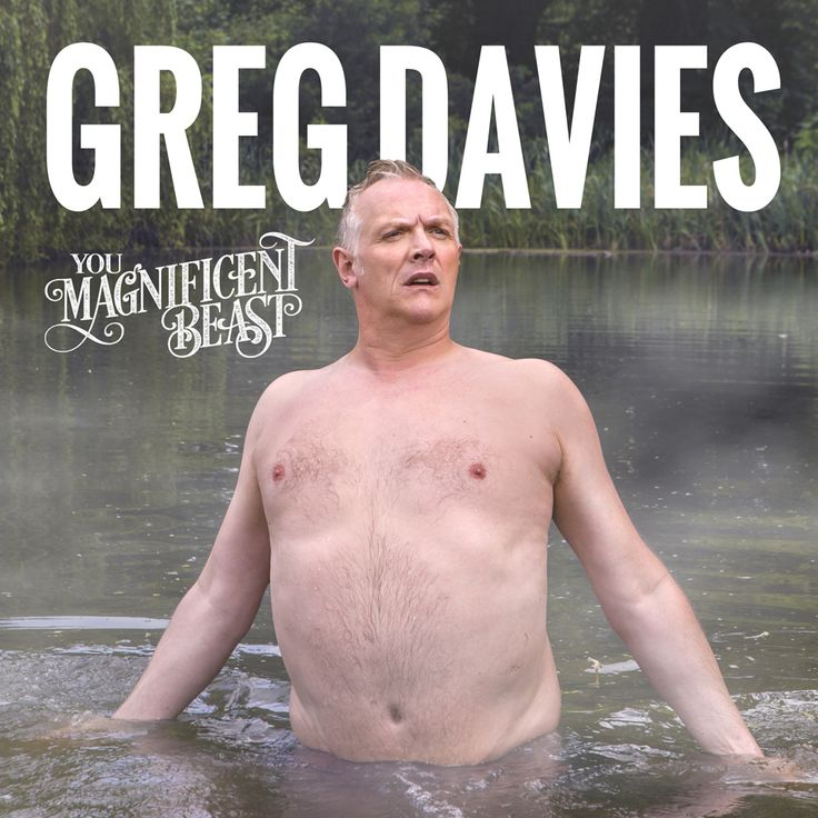 Comedian Greg Davies' 2017 tour poster. I approve.