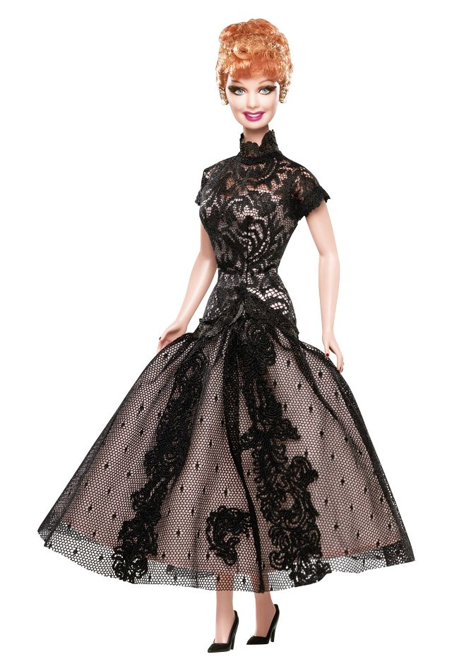 Lucille Ball Legendary Lady of Comedy Barbie® Doll   Barbie Collector: Comedy Barbie, Barbie Collector, Lucy Dolls, Lucil Ball, Ball Legendary, Lucille Ball, Barbie Dolls, Celebrity Dolls, Legendary Ladies
