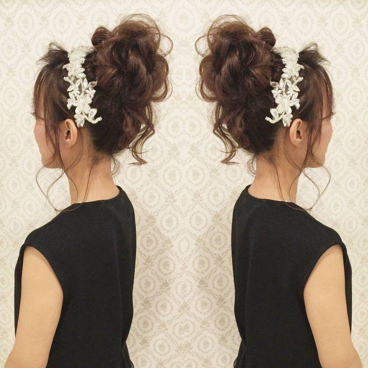 今日は友人の挙式当日の リハーサルでした! この髪型はミニドレス用♪ ドレスに合わせてかわいく おくれ毛有りのおだんごに! 当日は列席しながら ヘアメイクに入るので とても楽しみ~! #ヘア #ヘアメイク #ヘアアレンジ #結婚式 #結婚式ヘア #サロモ #東海プレ花嫁 #ウェディング #バニラエミュ #セットサロン #ヘアセット #アップスタイル #成人式ヘア #プレ花嫁 #和装前撮り #前撮り #着物ヘア #ヘアアクセサリー #撮影 #ヘアアクセ#色打掛#2016秋婚 #2017春婚 #結婚準備#ドレス#dress #kimono #hair #wedding