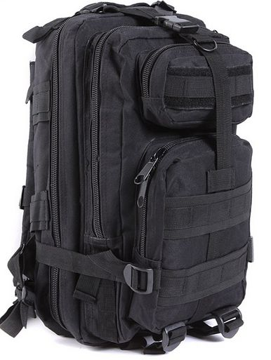 Great compact EDC backpack for your everyday needs. This 24 hour pack is comfortable and holds more than enough for everyday use. This is a must for anyone who is tactically prepared. FREE SHIPPING +