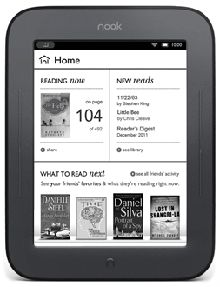 nook simple touch ebook-reader