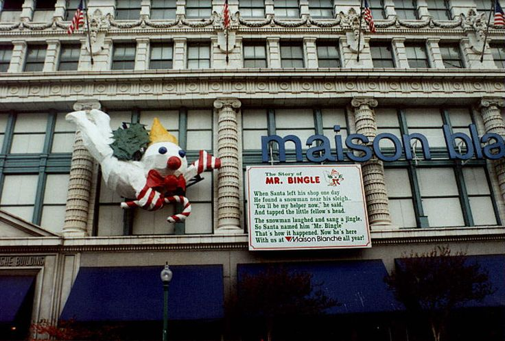 maison blanche new orleans - xmas  jingle jangle jingle  here comes mr. bingle  with another message from kris kringle!