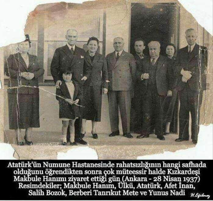 Atatürk'ün Nadir bulunan fotoğraflardan birisi