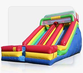 22ft Dual Lane Inflatable Slide