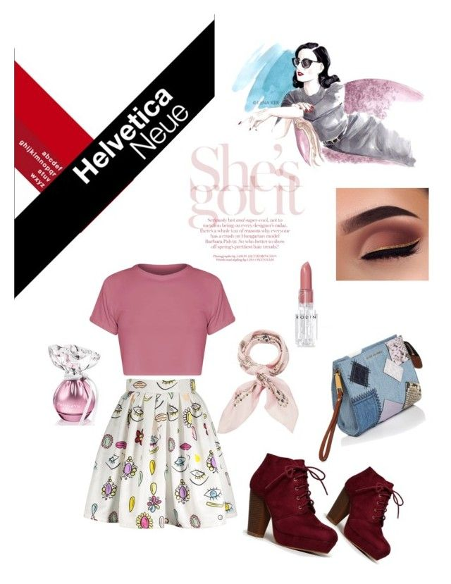 """Happy Hour💅🏻"" by kanitamyr on Polyvore featuring Manipuri, Marc Jacobs, Rodin, GetTheLook, fashionset, polyvorecontest and polyvorefashion"