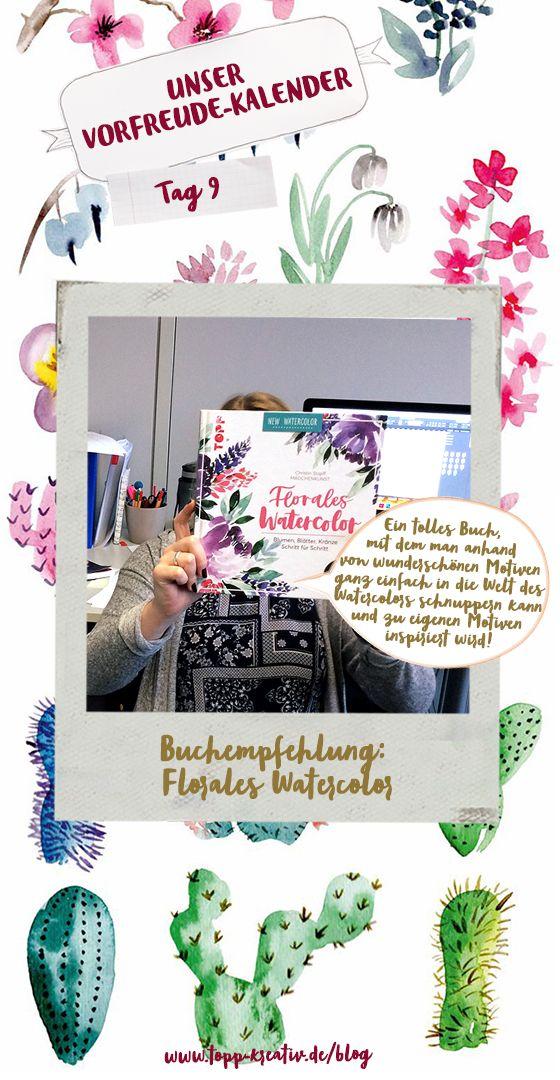 Maxi Empfiehlt Florales Watercolor Tolle Bucher Kreativ Und Blumen