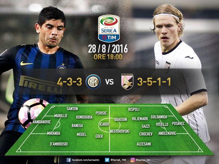 Vedere Inter-Palermo alle 18 di oggi domenica 28 agosto con il raccoglitore…