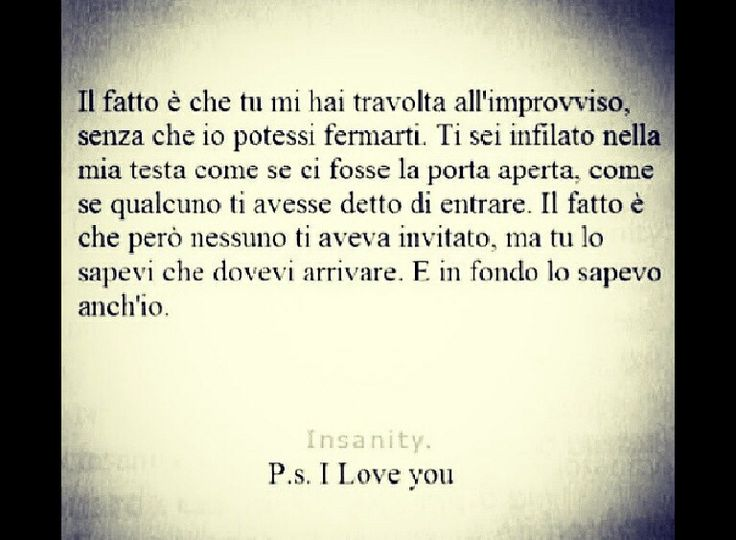Ps I love you. Frasi. Film