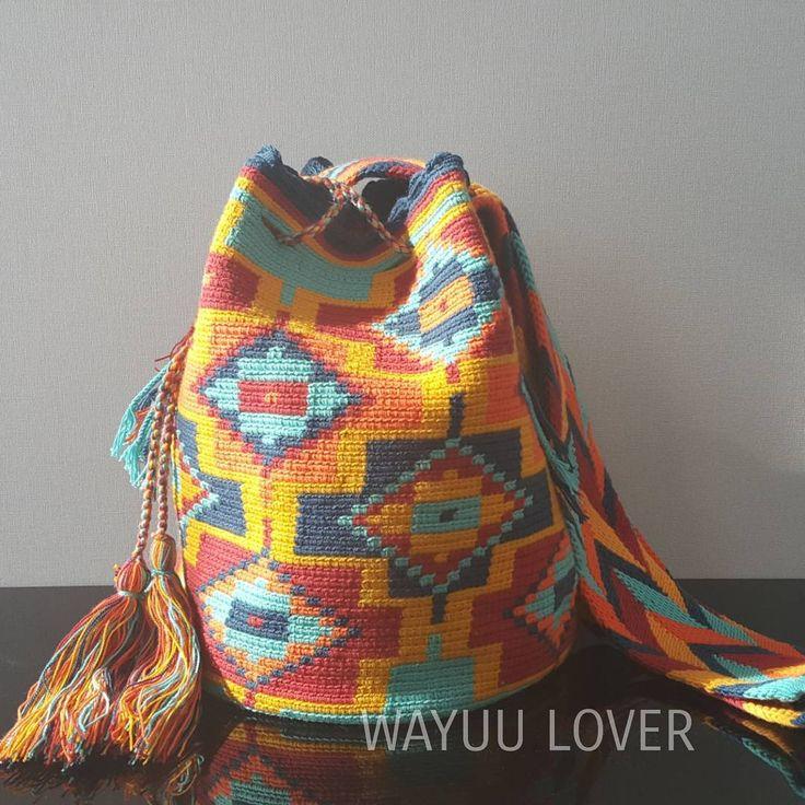 10 отметок «Нравится», 1 комментариев — WayuuBagLover (@wayuubaglover) в Instagram: «Wayuu bag 5 สี ไซส์ L สินค้า✔✔✔พร้อมส่ง##wayuubag #กระเป๋าวายู#กระเป๋าโคลอมเบีย#colombiabag…»