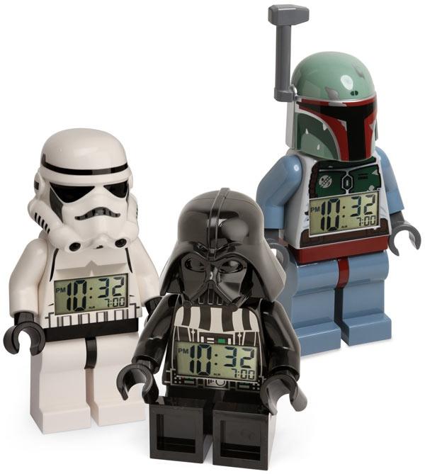 LEGO Star Wars Minifig Alarm Clock -- I want the Boba one :(