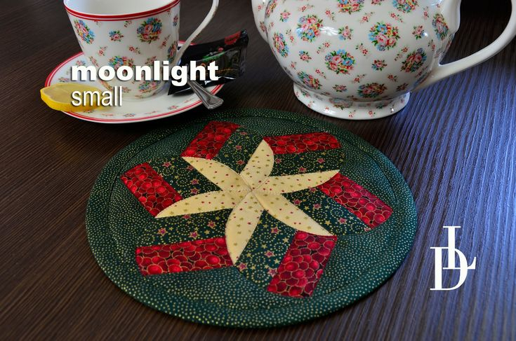 #patchwork #moonlight #prostírka #vánoční #tutorial #vzory #šablony