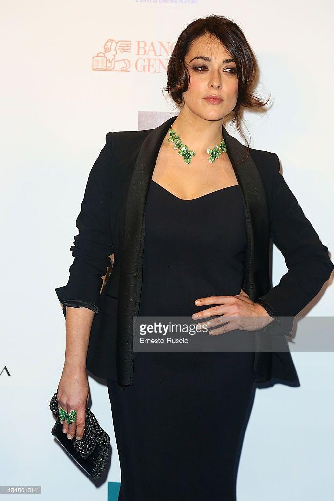 The italian actress Valentina Lodovini wearing a Mantù taxuedo jacket at Rai Cinema 15th Anniversary last night. Thank you Valeria Marchetti #RedCarpet #RaiCinema15 #taxuedo #fashion #Mantù
