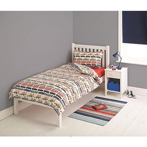 Buy little home at John Lewis On the Move Duvet Cover and Pillowcase Set Online at johnlewis.com
