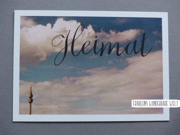 Postkarte mit dem Florianturm aus Dortmund - das Heimatgefühl im Ruhrgebiet