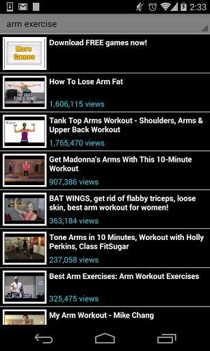 arm exercise!<br>No gym to go to? no problem, arm exercise is your own personal trainer, anywhere, any time. Get in shape, fast following any of the available videos in this app. No place and time limitations, exercise at home and feel good about your bod
