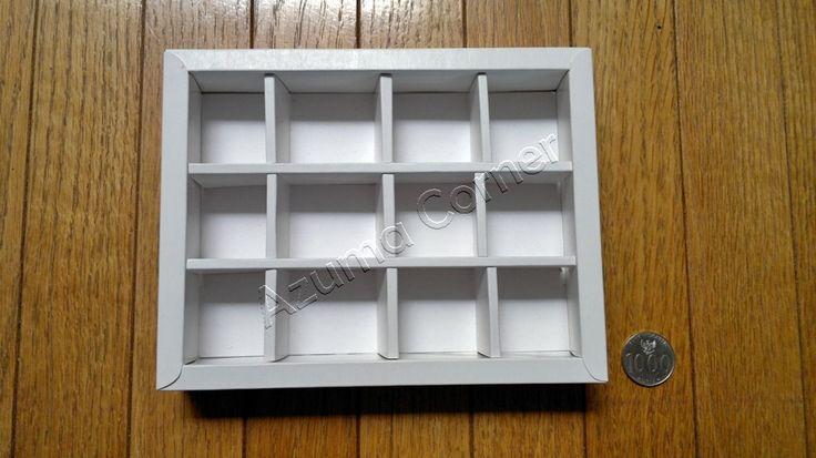 Box | Kotak isi 12 (4x3).     https://fb.me/azumacorner