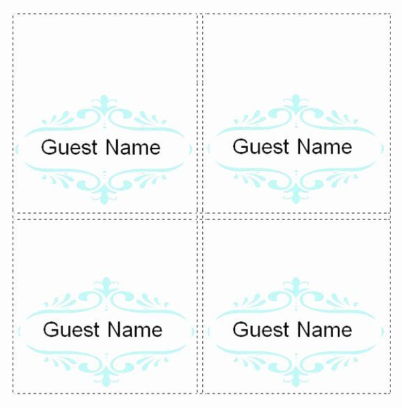 Place Cards Template 6 Per Sheet Luxury 5 Template For Place Cards 6 Per Sheet Oetao Card Templates Printable Card Templates Card Template