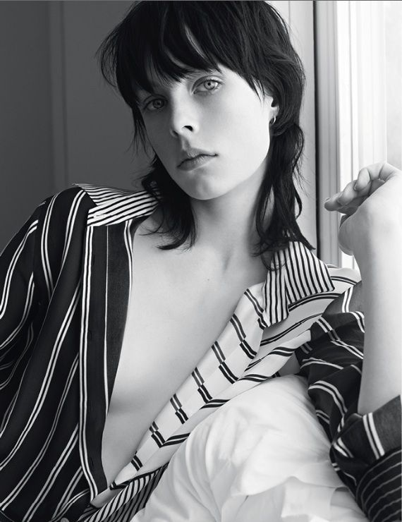 EDIE CAMPBELL by KARIM SADLI for Sandro spring 2014 campaign
