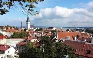 Tallinnan vanhankaupungin tunnelmaa